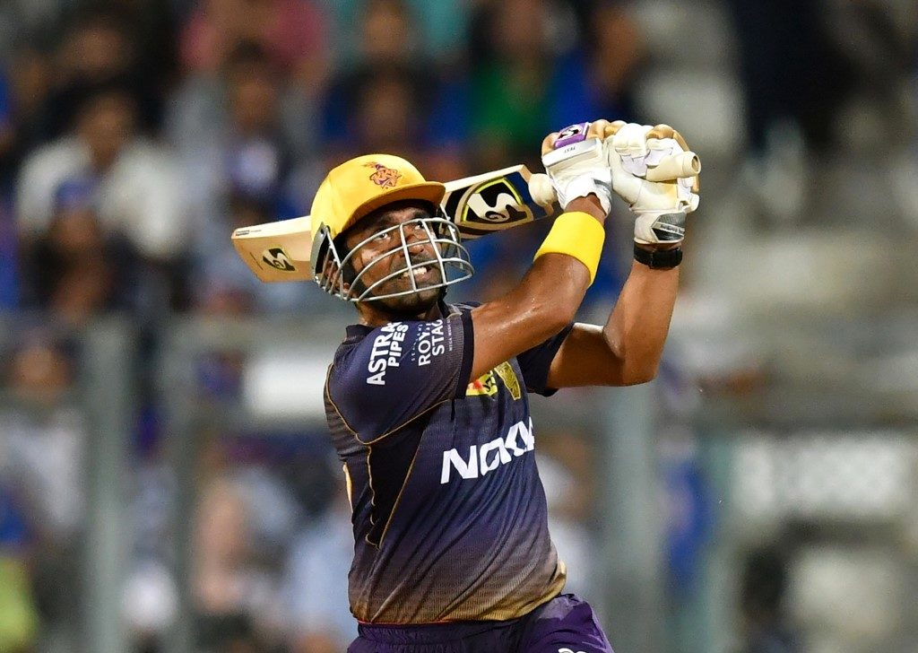 Robin Uthappa swung hard, but rarely connected