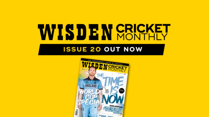 Wisden Cricket Monthly issue 20: World Cup special
