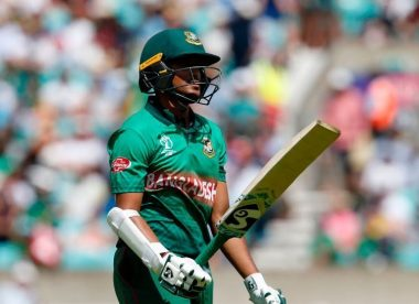 Shakib Al Hasan's World Cup bat fetches over £19,000 in Covid-19 relief auction