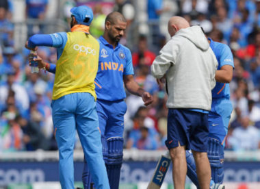 Injury could rule Shikhar Dhawan out of World Cup