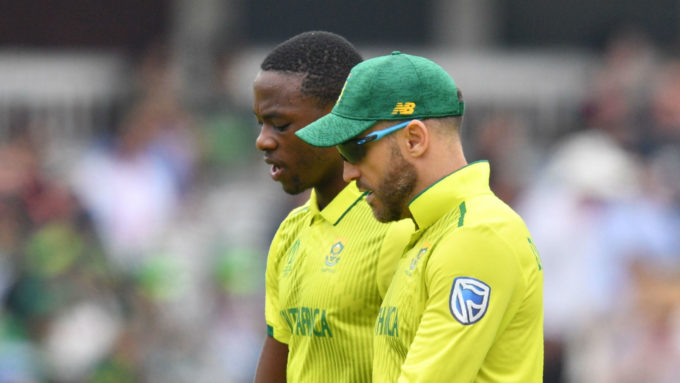 Du Plessis says South Africa tried to prevent Kagiso Rabada from playing the IPL