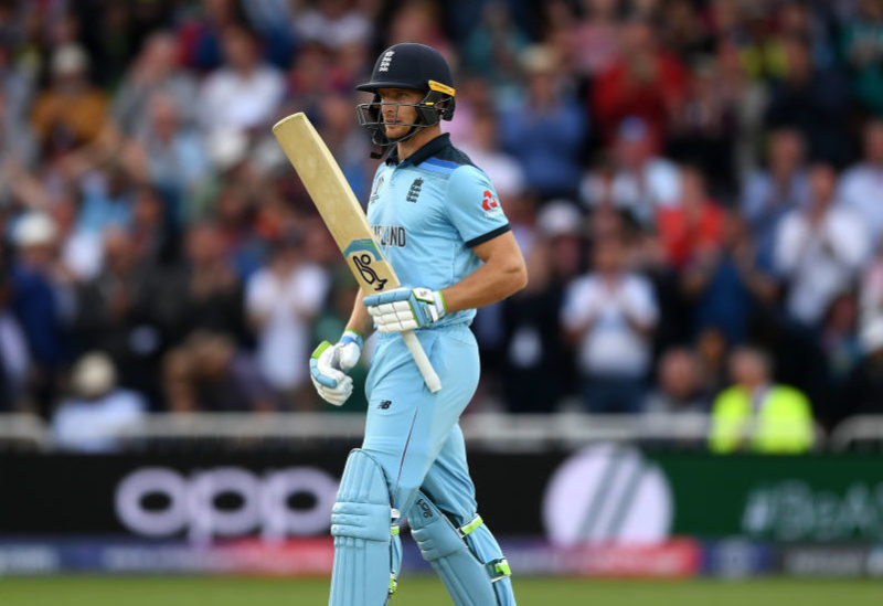 Buttler is the third highest scorer at the World Cup, scoring 185 runs in three innings