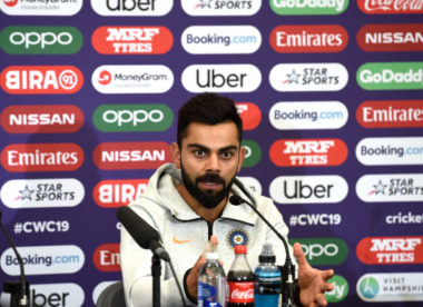Virat Kohli: 'India can't get too emotional for Pakistan game'