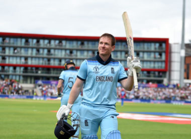 """It's something I never thought I'd do"" — Morgan revels in record-breaking ton"