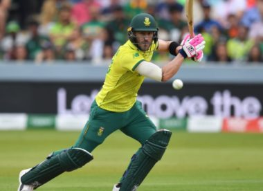 World Cup exit the lowest point in Faf du Plessis' career