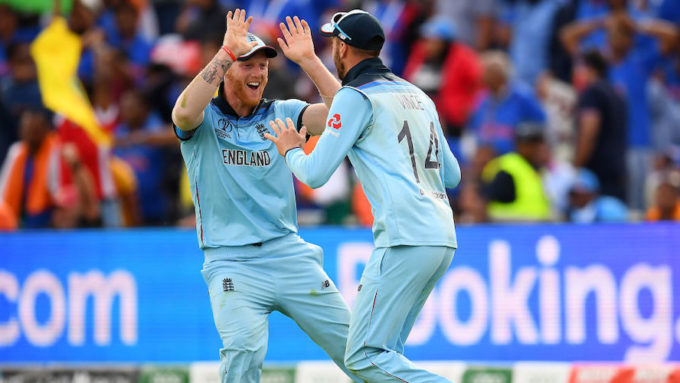 England defeat India to keep semi-final hopes alive