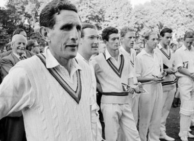 Donald Carr: 'Few in cricket have been so close to so much for so long' – Almanack