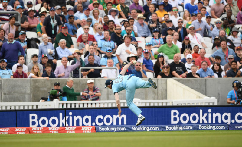 Ben Stokes' catching at the 2019 World Cup was out of this world