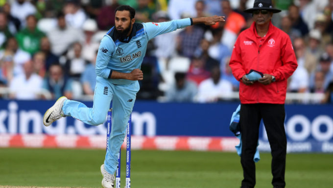 Adil Rashid: I'm 100 per cent fit and ready to make World Cup impact