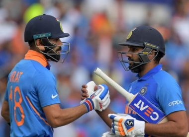 Kohli content with playing second fiddle to record-breaker Rohit