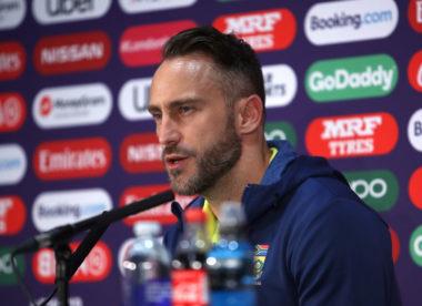 Faf du Plessis unsure about captaincy future post World Cup
