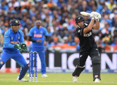 India v New Zealand: Who holds the advantage after day one of soggy semi-final?
