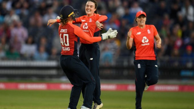 Mady Villiers gives England much-needed boost in consolation Ashes win