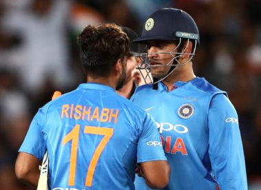 'Big shoes to fill' – Pant on succeeding Dhoni