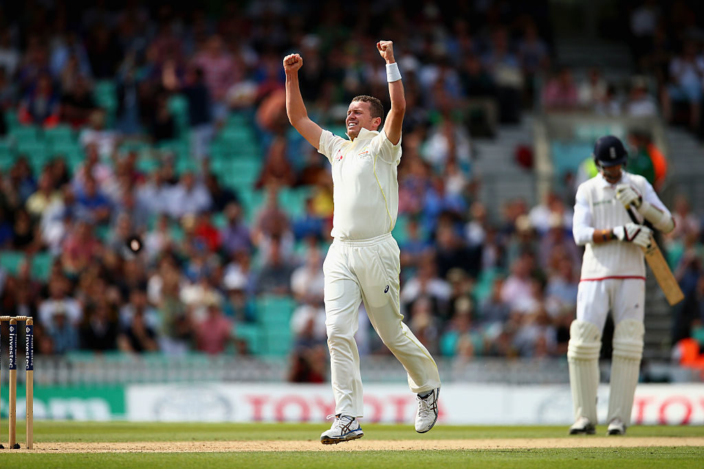 Siddle played just one Test in the 2015 Ashes