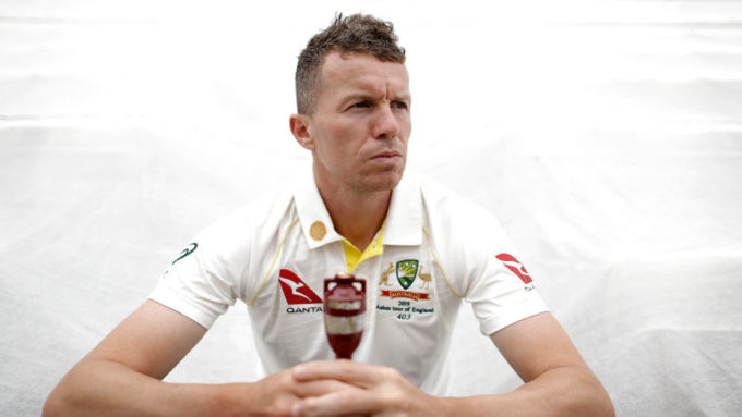 Fitter and stronger, Peter Siddle is determined to make an impact