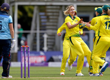 Women's Ashes: Perry claims career-best figures as Australia thump England