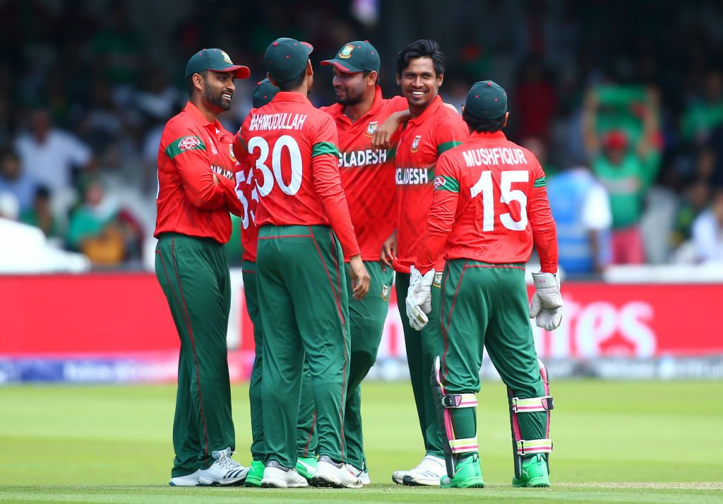 Bangladesh finishing eighth at the World Cup