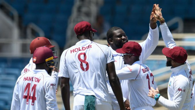 'A new feeling' – Rahkeem Cornwall after taking maiden Test wicket