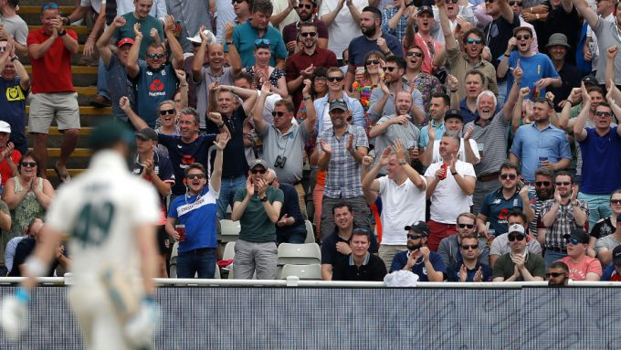 Britain's sports minister slams 'distasteful' England fans for booing Smith