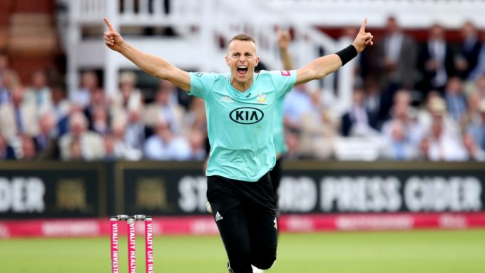 Tom Curran to miss rest of 2019 season through injury