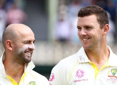 Nathan Lyon rates Josh Hazlewood among top three bowlers in Tests