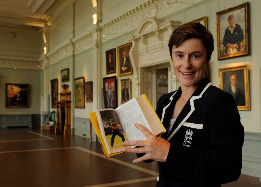 Claire Taylor, the first lady of Wisden