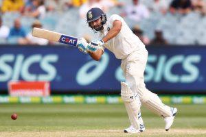 Rohit Sharma scored a crucial 63* against Australia