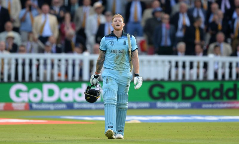At the 2019 World Cup, Stokes scored 465 runs at an average of 66.42, with five fifties in 10 innings