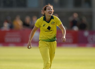 Megan Schutt creates history with second international hat-trick