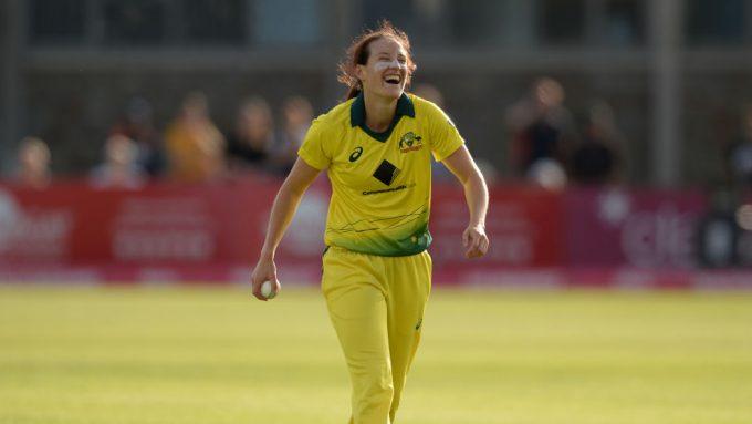 Megan Schutt creates history with second international hat-trick