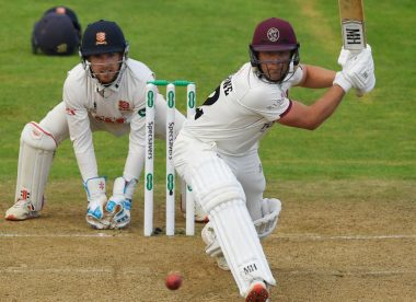 Van der Merwe, Leach 10th wicket partnership gives Somerset hope