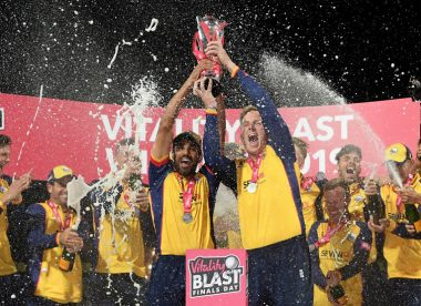 Harmer, Bopara steer Essex to maiden T20 Blast title