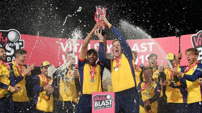 Harmer, Bopara steer Essex to maiden T20 Blast title