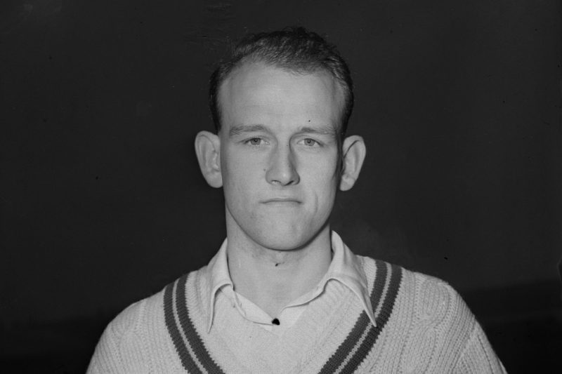Tyson represented Enngland in 17 Tests between 1954 and 1959, claiming 76 wickets at 18.56
