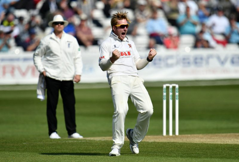 Harmer claimed 72 wickets in his debut county season for Essex, including two ten-wicket hauls