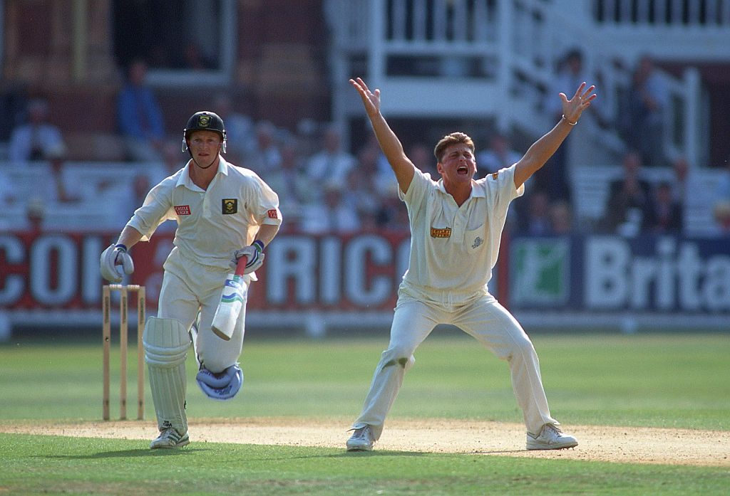 When Gough came back into the South Africa series, so did England