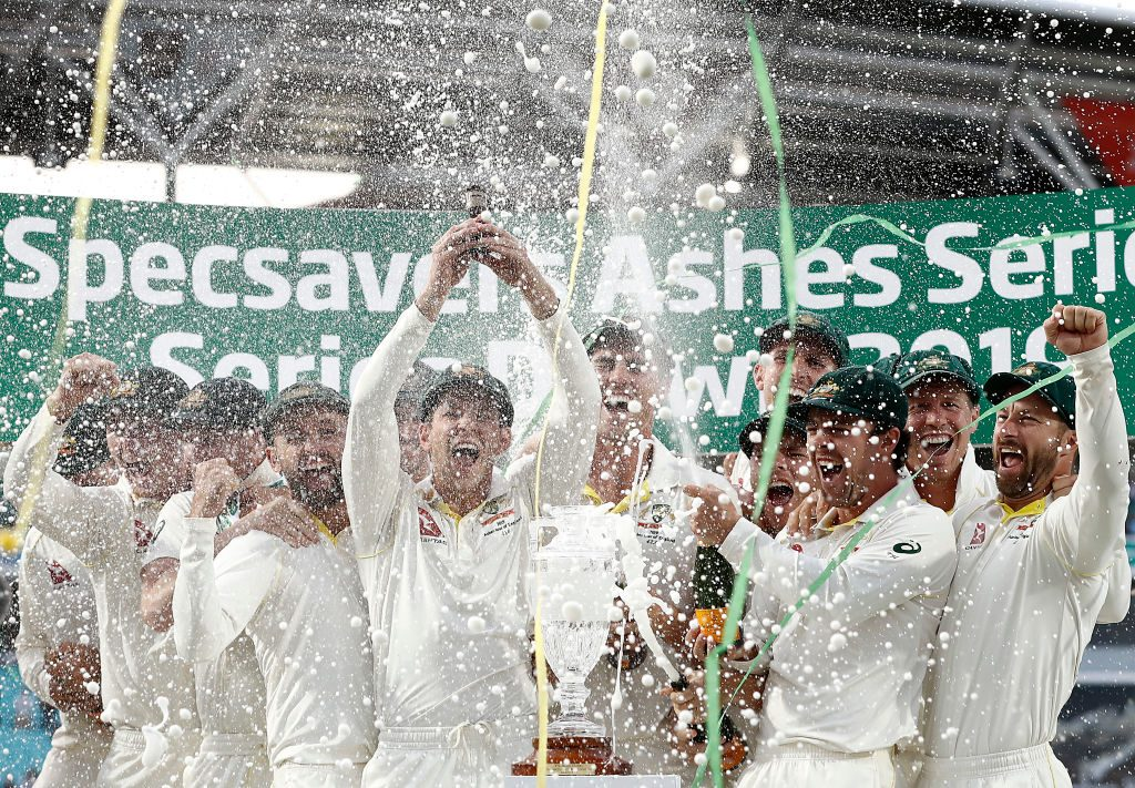 Tim Paine led Australia to their first Ashes triumph in England in 18 years
