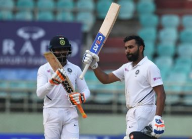 Rohit Sharma makes history with twin tons