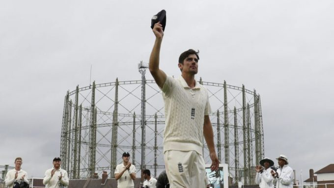 'Not every eye at The Oval was dry': Alastair Cook calls it a day - Almanack