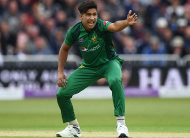 Pakistan's Mohammad Hasnain becomes youngest to claim T20I hat-trick