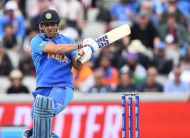 'I also feel angry at times, but I control my emotions better' - MS Dhoni