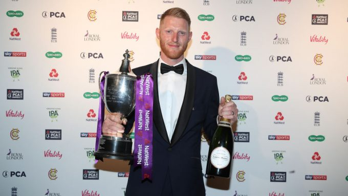 Ben Stokes named PCA Players' Player of the Year after 'phenomenal' 2019