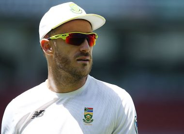 "Du Plessis says grooming new leaders will be his ""real purpose"" over the next year"