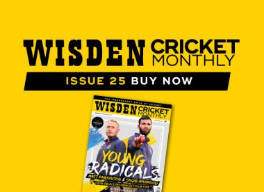 Wisden Cricket Monthly issue 25: Meet England's young radicals