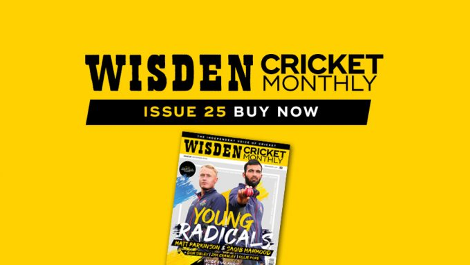 Wisden Cricket Monthly issue 25: Meet England's young radicals