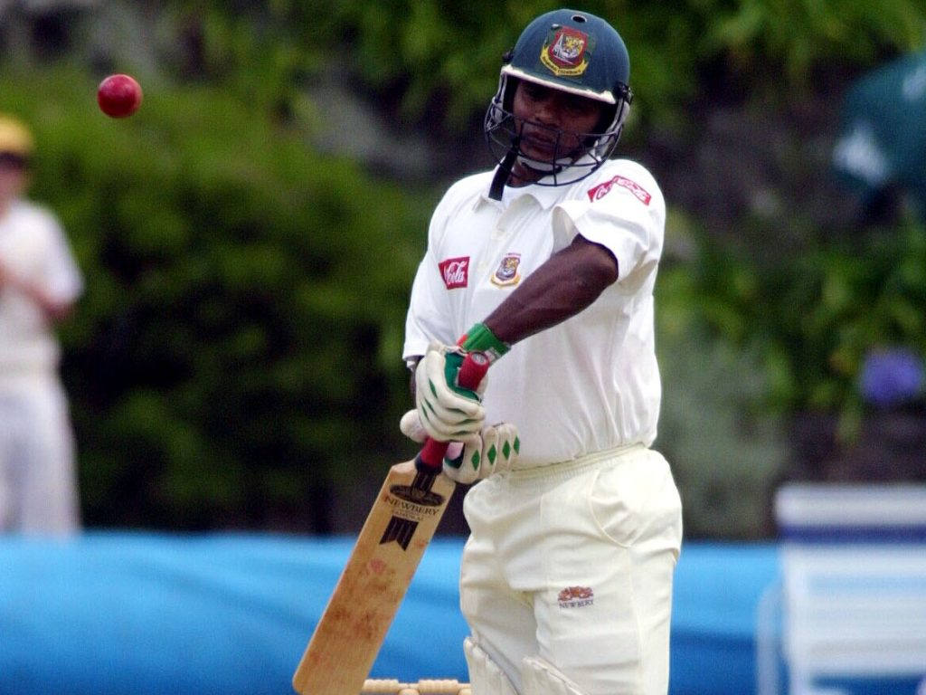 In Bangladesh's first ever Test, it was fitting that Aminul Islam was their star