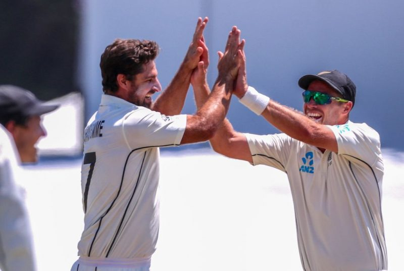 Colin de Grandhomme is not a bowler known for bouncing people out, but did just that against Root