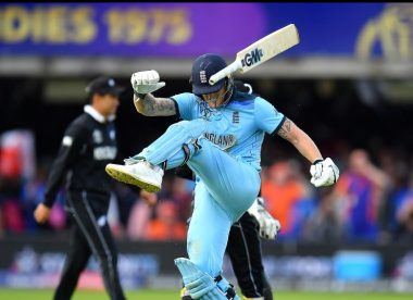 The reason why Ben Stokes didn't try & hit the last ball of the World Cup final for six
