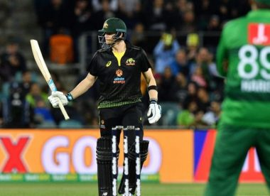 The big six: Steve Smith puts on a show in Canberra